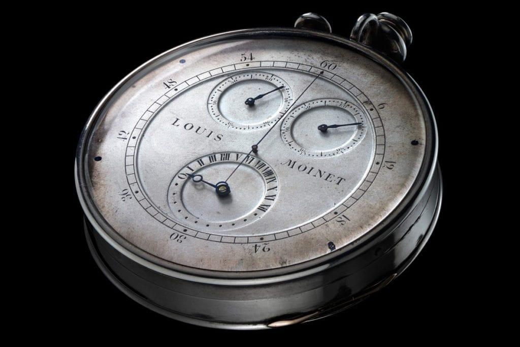 pirmasis-chronografas-laikrodis