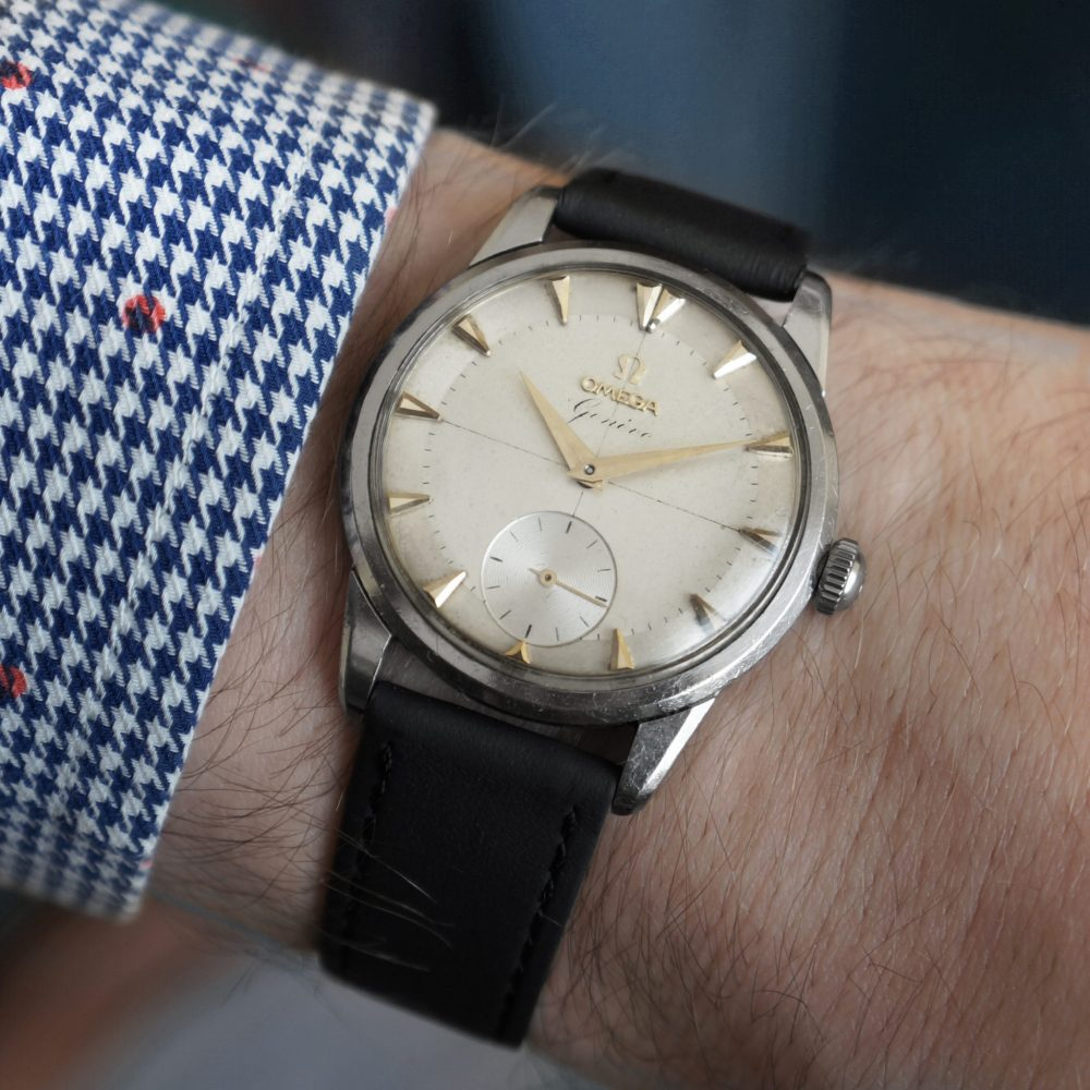Omega-Geneve-vintažinis-laikrodis