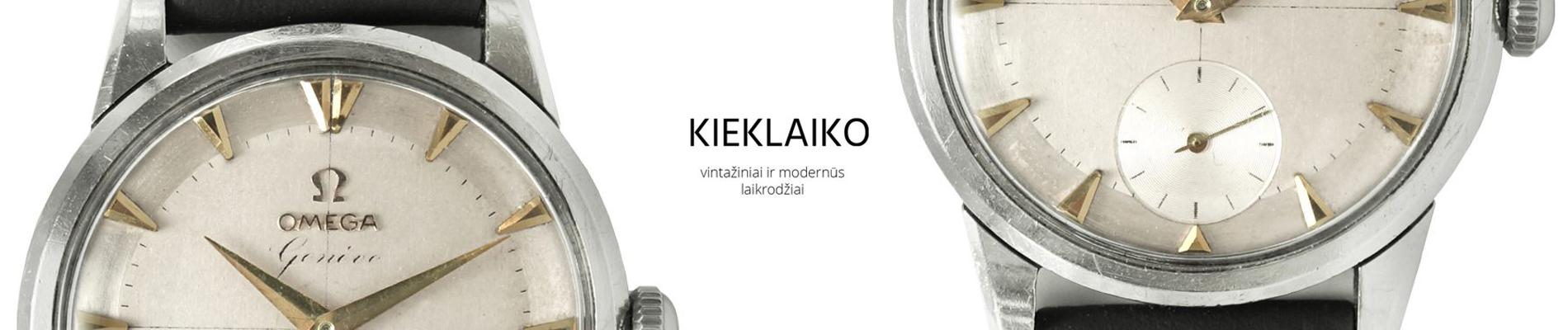vintažiniai ir modernūs laikrodžiai