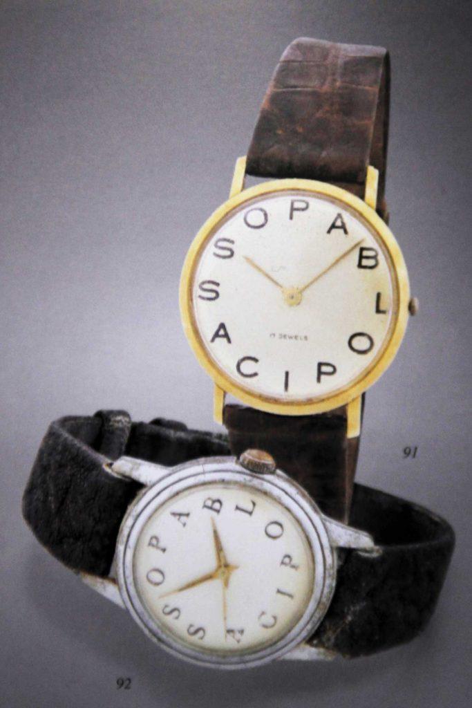 Pablo-Picasso-laikrodžiai