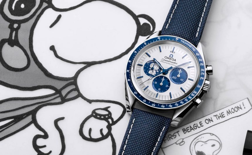 Omega-Speedmaster-Silver-Snoopy-laikrodis