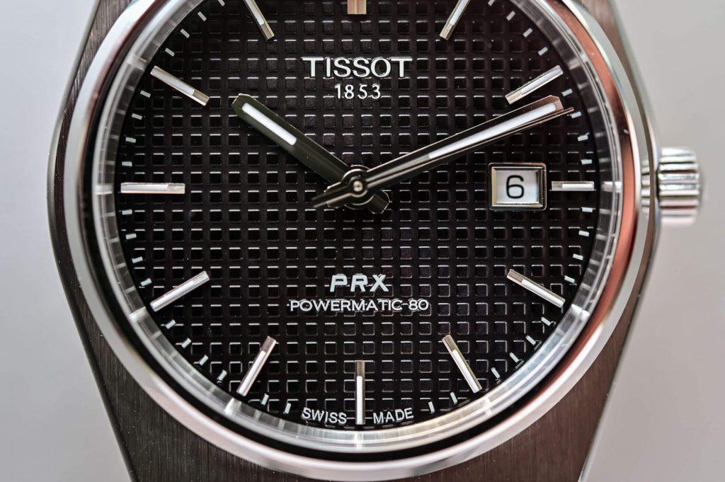Tissot-prx-laikrodžio-ciferblatas