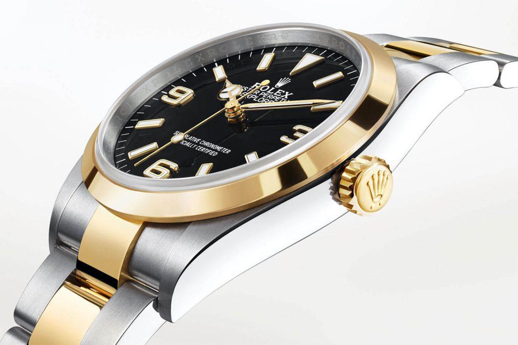 Auksinis-Rolex-laikrodis