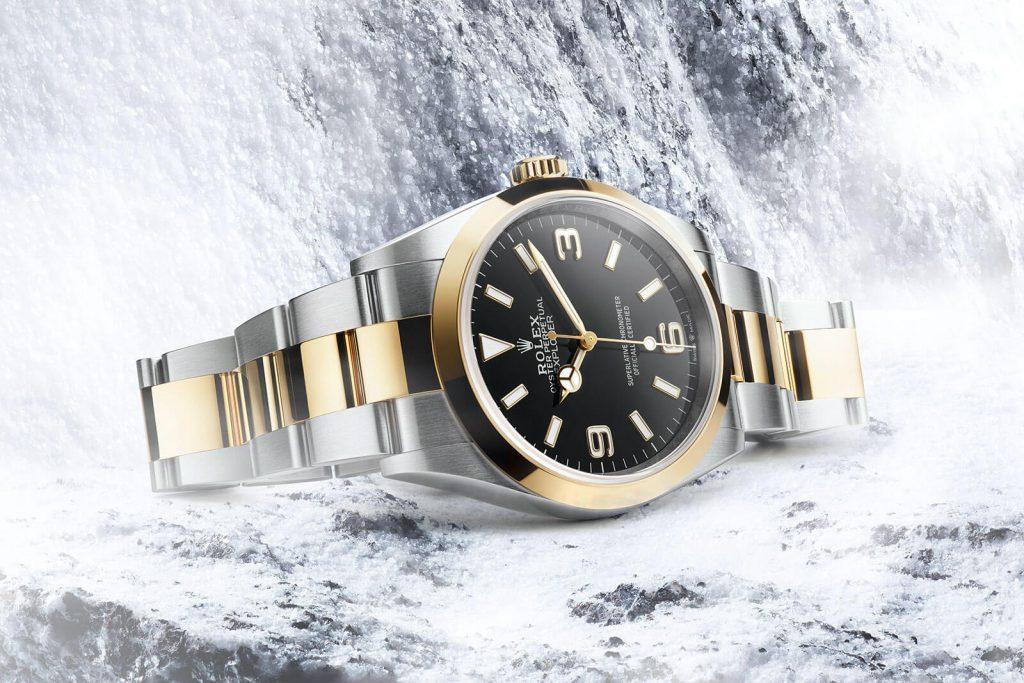 Naujas-Rolex-laikrodis